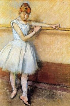 Edgar Degas   Dancer at the Barre II