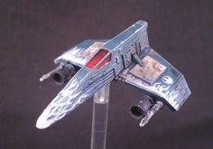 Custom E-Wing paint job + slightly modified