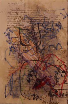Allen Vandever; Chicago; cotemporary; new; yoga; nude; epoxy; artist; abstrac; new; collage; Chicago Artist Et66