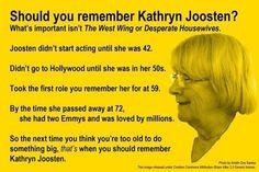 Kathryn Joosten (The West Wing, Desperate Housewives)