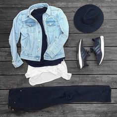 WEBSTA @ trace_ridlehoover - Feelin the denim @outfitgrid