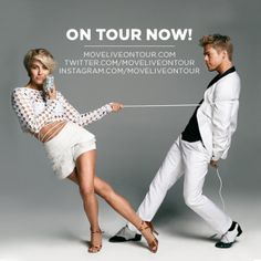 """Superstar siblings Julianne and Derek Hough will star in their own all-new dance production, MOVE LIVE ON TOUR, onstage across North America beginning May 28 through July, 2014.  MOVE LIVE ON TOUR will be a complete stage production, with sets, costumes and a cast of talented dancers, with the Houghs headlining in solo, duet and group performances in styles ranging from ballroom and tap to salsa and hip-hop and everything in-between.  According to Derek and Julianne, """"No matter where ..."""