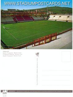 € 0,70 - code : ITA-037 - Perugia - Curi - stadium postcard cartolina stadio carte stade estadio tarjeta postal