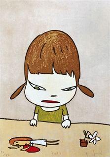 // Broken Treasure by Yoshitomo Nara.