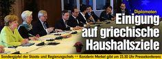 Vor Beginn des Rettungsgipfel: EU-Ratspräsident Tusk fordert Griechen auf - Nach gut drei Stunden | Diplomaten: Einigung auf griechische Haushaltsziele http://www.bild.de/politik/ausland/griechenland/griechenlandkrise-aktuell-gipfel-in-bruessel-41453128.bild.html