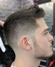 Modern Short Spiky Haircuts 2015 for Men
