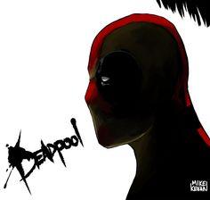 Deadpool by Mike Kevan