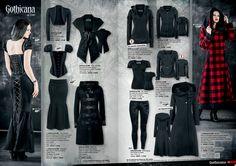 Ropa gotica #Goticana #gothicFashion EMP Online España • Tienda Rock •Heavy • Metal • Gótica y Alternativa emp.me/6mn Heavy Metal, Romantic Goth, Victorian Goth, Gothic Fashion, Darkness, Afro, Steampunk, Outfit Ideas, My Style