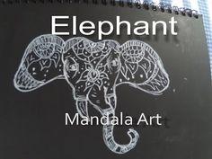 Lintas Imaji: Mandala Art Gajah