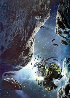 Stephan Martinière - The Silent War by myriac, via Flickr | Click through for a larger image