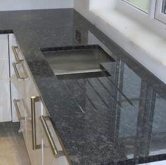 Silver Pearl (aka Steel Grey) granite