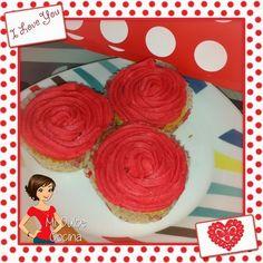 Mi Dulce Cocina: Cupcakes de Rosas