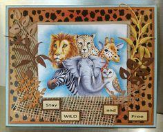 Serengeti Scrapbook Cards, Scrapbooking, Wild And Free, Copic, Art Blog, Safari, Frame, Home Decor, Picture Frame