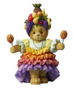 Love this Bear with Maracas Figurine on #zulily! #zulilyfinds