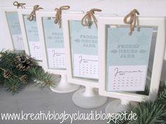 Kreativ Blog by Claudi: Bilderrahmen-Kalender