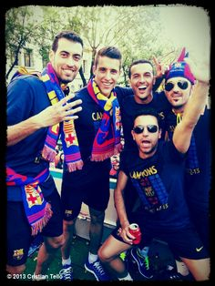 I couldn't decide for a second to pin this pic on the board of Tello or Xavi....