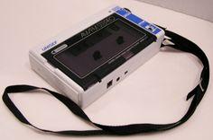 UNISEF Model Z-2 Vintage 2 Band Stereo Radio Cassette Player HandHeld Strap #UNISEF