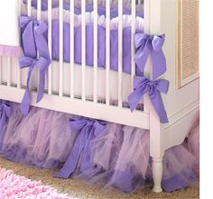 Tutu-licious bedrooms for little girls tulle ideas bedroom nursery cot crib frill