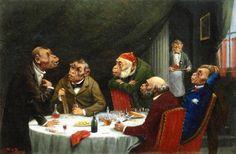 The Athenaeum - After Dinner Discourse (William Holbrook Beard - )