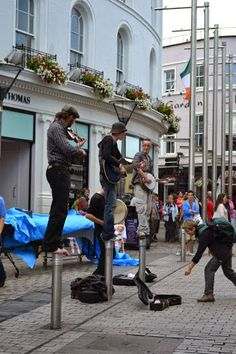 No doubt that Irish musicians are special. Galway, Ireland.