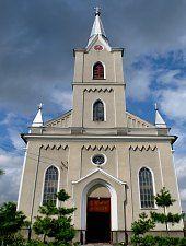 Katolikus templom, Hosszúmező , Fotó: WR
