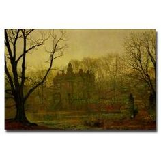 @Overstock - Dark and mysterious and done in the style of the old masters, this artistic  gallery-wrapped canvas art by artist John Atkinson makes a perfect addition to any fine art collection. This large giclee print on canvas is delivered ready to hang and enjoy. http://www.overstock.com/Home-Garden/John-Grimshaw-In-the-Cloaming-1878-Canvas-Art/6535134/product.html?CID=214117 $132.04