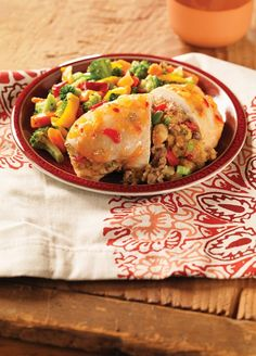 Pineapple Habanero Stuffed Chicken Breast Recipe http://madamedeals.com/?p=493037 #MustTryNow #recipes #inspireothers