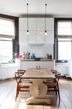 Эклектичная квартира в западной части Лондона | Дизайн|Все самое интересное о дизайне, архитектура, дизайн интерьера, декор, стилевые направления в интерьере, интересные идеи и хэндмейд