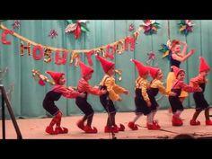 """Веселый детский танец """"Гномы"""". Дети танцуют на сцене на фестивале Мистерия танца - YouTube"""