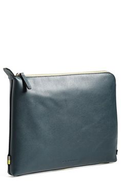 Ben+Minkoff+'Warren'+Leather+Zip+Pouch+available+at+#Nordstrom