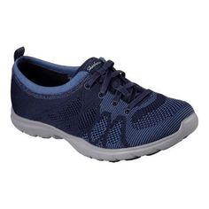 Women's Skechers Dreamstep Esteem Bungee Sneaker Navy/