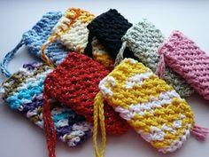 CrazySocks Crochet: CROCHET PATTERN - Textured Soap Saver