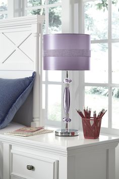 Merveilleux A Plum Pretty Hue, Gleaming Silver And Rhinestone Accentsu2014perfect For The  Glitzy