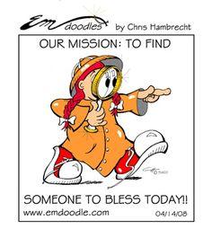 Church Bulletin Comics | Free Christian Cartoons for Bulletins