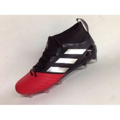 Buy Adidas Ace 17.1 Primeknit FG Leather Red Black Football Boots