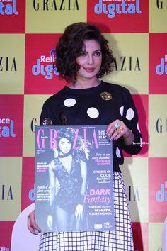 Priyanka Chopra At Grazia Magazine Cover Launch In Mumbai (17)