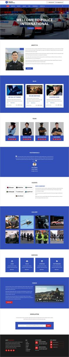 Police is beautifully design perfect #bootstrap HTML5 theme for #security Service, #Polices force or #Bodyguard service provider website download now➩ https://themeforest.net/item/police-html5-multi-page-security-agency-template/18335632?ref=Datasata