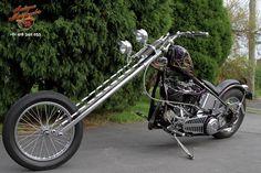 Ferro Velho Motos  Antigas : Harley Davidson Kucklehead 1941 Chopper