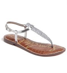 Show off that pedicure with a pair of mirrored silver sandals.SHOP NOW: Sam Edelman sandal, $65