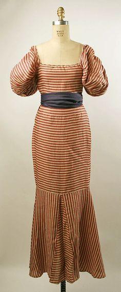 Evening Dress 1934, American, Made of linen