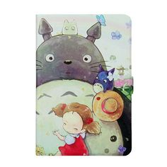 Tablet Case For Samsung Galaxy tab A 8.0 T350 T351 T355 P350 Smart Case Cover Sleep Cartoon Print Silicon PU Leather Shell Funda