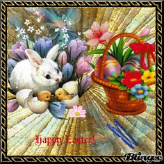 Good Afternoon sister,have a lovely Afternoon xxx ❤❤❤ Easter Art, Easter Eggs, Easter Bunny Pictures, Happy New Year Gif, Bunny Art, Bunny Bunny, Easter Wallpaper, Easter Printables, Vintage Easter