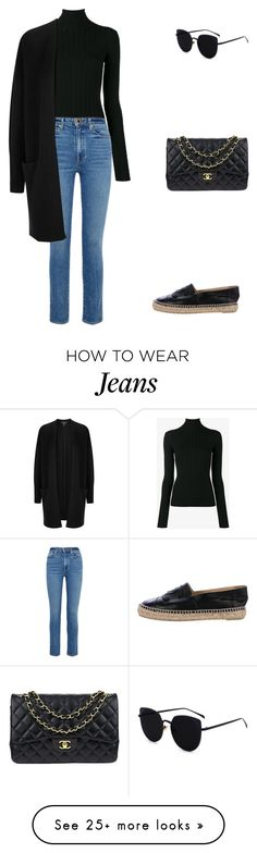 """""""Untitled #489"""" by mitzi9 on Polyvore featuring Acne Studios, Khaite, Donna Karan and Chanel"""