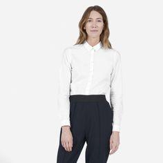 The Slim Stretch Poplin Shirt - Everlane