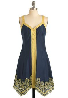 Not Just a Phase Dress, #ModCloth $80