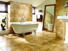 Wickes Antalia Beige Satin Ceramic Wall & Floor Tile 400x300mm