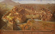 Reconstruction of Ani, the medieval capital of Armenia.