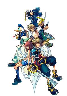 Kingdom Hearts 2: A game more detailed and beautiful then films. Most moving soundtrack