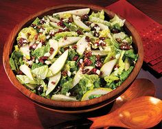 Pear and Craisin Salad - Recipes at Penzeys Spices, from the catalog.  Had this with dinner last night - OMG!