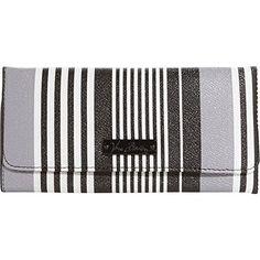 Vera Bradley Trifold Wallet (Midnight Stripe)